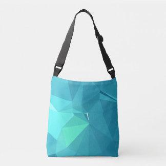Abstract & Clean Geo Designs - Falcon Crown Crossbody Bag