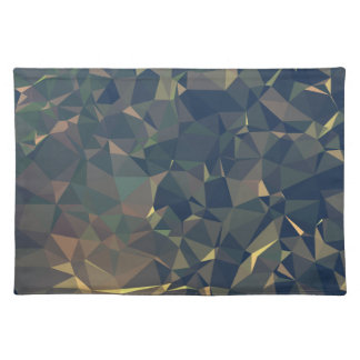 Abstract & Clean Geo Designs - Infused Steel Placemat