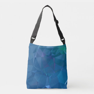 Abstract & Clean Geo Designs - Island Lagoon Crossbody Bag