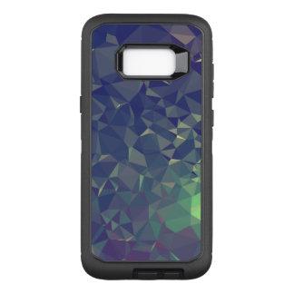 Abstract & Clean Geo Designs - Nightime Fireflies OtterBox Defender Samsung Galaxy S8+ Case