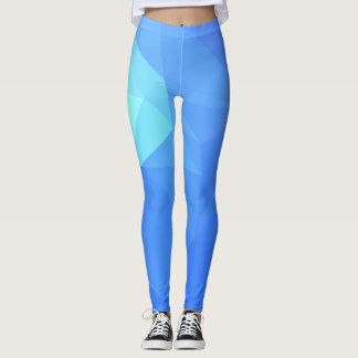 Abstract & Clean Geo Designs - Poseidon Trident Leggings