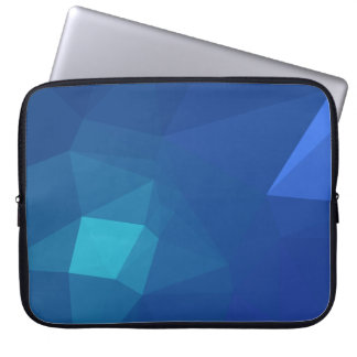Abstract & Clean Geo Designs - River Flower Laptop Sleeve
