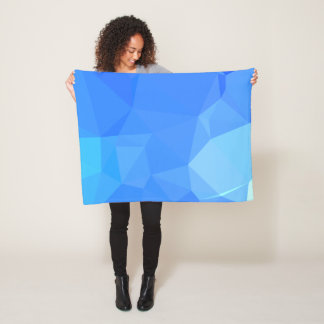 Abstract & Clean Geo Designs - Sea Goddess Fleece Blanket