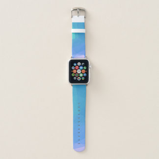 Abstract & Clean Geo Designs - Seashell Gully Apple Watch Band