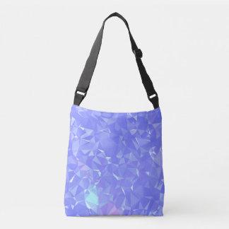 Abstract & Clean Geo Designs - Shining Mist Crossbody Bag