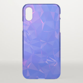 Abstract & Clean Geo Designs - Space Edge iPhone X Case