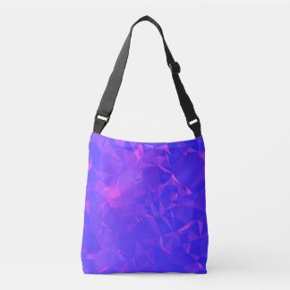 Abstract & Clean Geo Designs - Unknown Galaxy Crossbody Bag