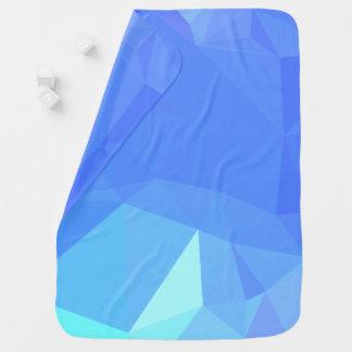 Abstract & Clean Geometric Designs - Skyscraper Baby Blanket