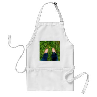 Abstract Close To Nature Aprons
