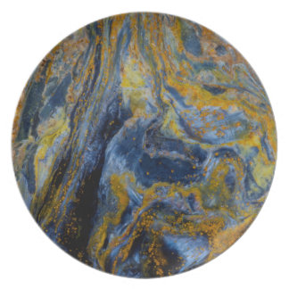 Abstract Close up of Pietersite Plate