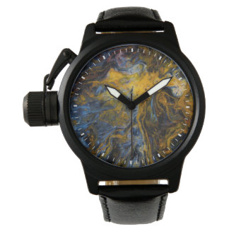 Abstract close up of Pietersite Watch