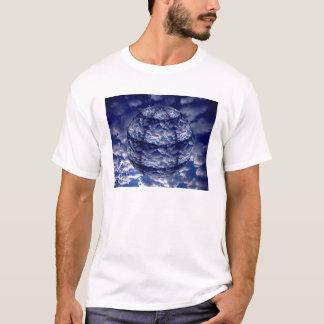 Abstract cloud 3D sphere T-Shirt