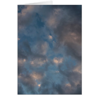 Abstract Clouds Card