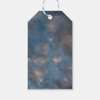 Abstract Clouds Gift Tags