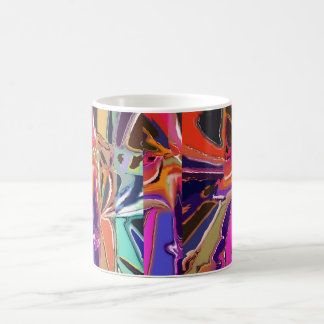 Abstract Clown Abstract Coffee Mug