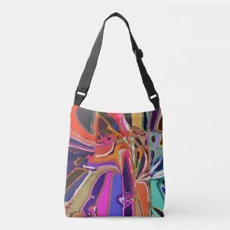 Abstract Clown Abstract Crossbody Bag