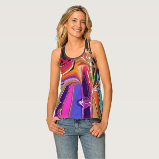 Abstract Clown Abstract Singlet