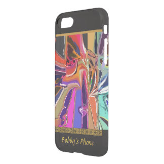 Abstract Clown - Unusual Abstract with Your Name iPhone 8/7 Case