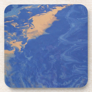 """Abstract Coasters Set of 6 """"Meandering"""""""