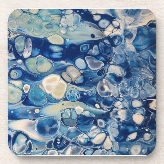 "Abstract Coasters Set of 6 ""Tranquil"""