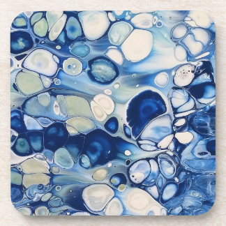 "Abstract Coasters Set of 6 ""Tranquil 2"""