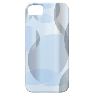 Abstract Cold Blue Circles iPhone 5 Case