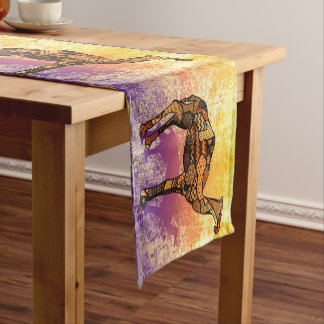 Abstract Collage Ozzy the Camel ID102 Short Table Runner