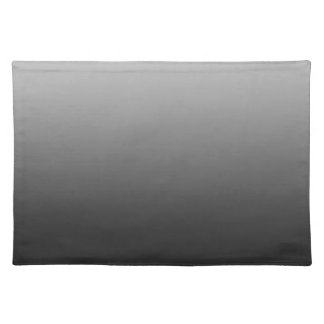 Abstract color - black placemat