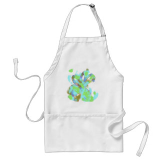 Abstract Color Design Aprons