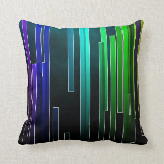 Abstract Color Dimension Pattern Throw Pillow Throw Cushions
