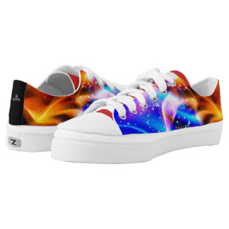 Abstract Color Explosion 101 Printed Shoes