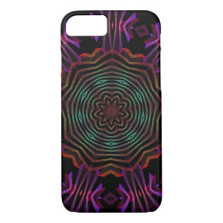 abstract color flower spin iPhone 7 case