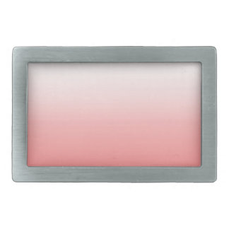 Abstract color - pink rectangular belt buckles