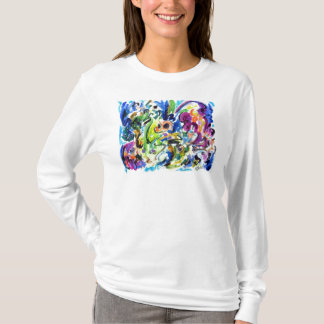 Abstract Color Whirl T-Shirt