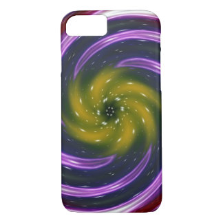 Abstract Colored Twist Art Background #72 iPhone 7 Case