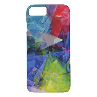 Abstract, Colorful 3D photo-realistic image iPhone 7 Case