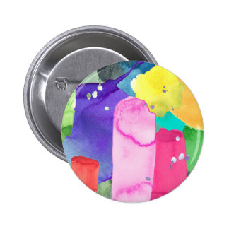 ABSTRACT COLORFUL 6 CM ROUND BADGE