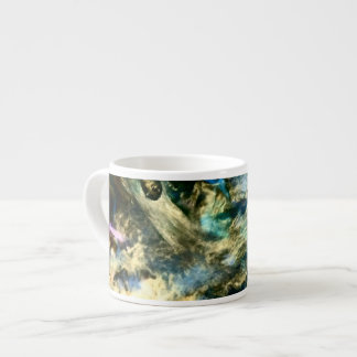 Abstract Colorful Artful Photograph Espresso Cup