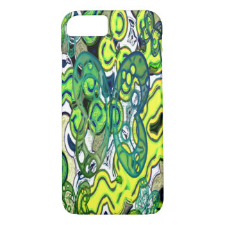 Abstract colorful butterflies iPhone 7 case
