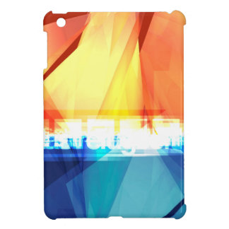 Abstract colorful design cover for the iPad mini