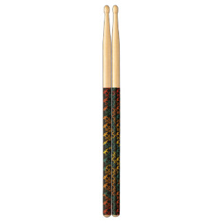 abstract colorful drumsticks