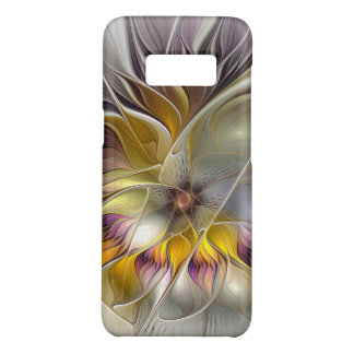 Abstract Colorful Fantasy Flower Modern Fractal Case-Mate Samsung Galaxy S8 Case