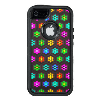 Abstract Colorful Flowers OtterBox iPhone 5/5s/SE Case