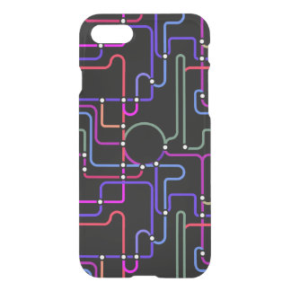 Abstract Colorful Geometric Lines Random Pattern iPhone 7 Case