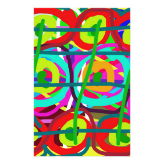 ABSTRACT COLORFUL GRAPHIC ART  GIFTS STATIONERY PAPER