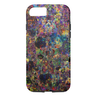 Abstract Colorful Grunge Texture Random Pattern iPhone 7 Case