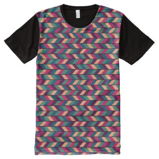 Abstract Colorful Industrial All-Over Print T-Shirt