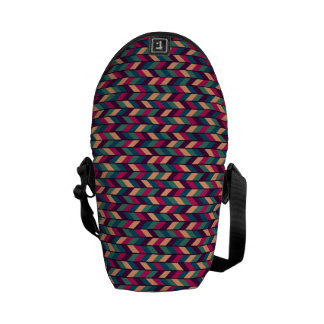 Abstract Colorful Industrial Courier Bag