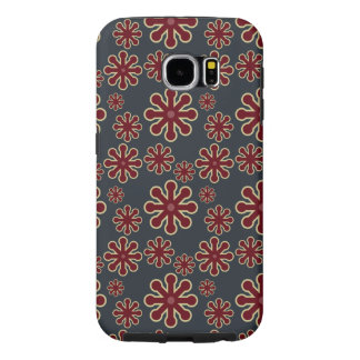 Abstract Colorful Jacks Pattern Samsung Galaxy S6 Cases