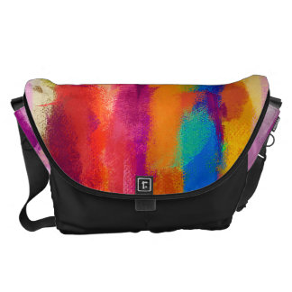 Abstract Colorful Pastel Pattern 3 Courier Bag
